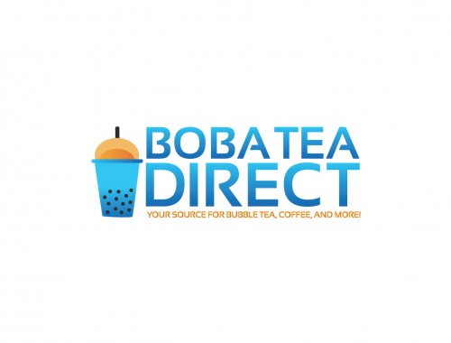 Boba Tea Direct Logo Coffee Colombia French Vanilla
