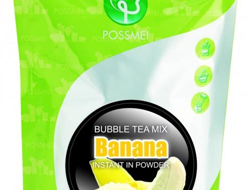 banana boba bubble tea powder mix