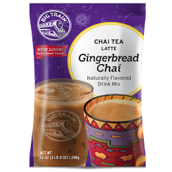 Big Train Gingerbread Chai Tea Latte
