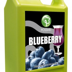 blueberry boba bubble tea syrup juice