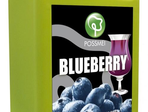 blueberry boba bubble tea syrup juice