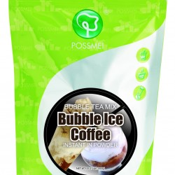 Ice coffee boba bubble tea powder mix