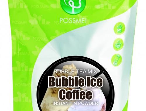 Ice coffee boba bubble tea powder mix