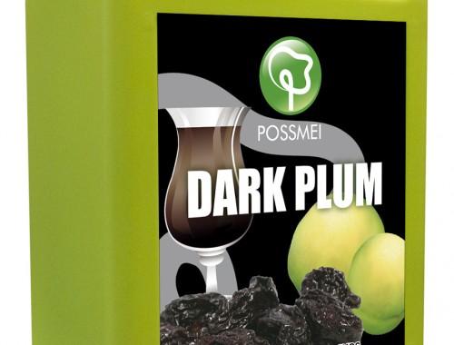 dark plum boba bubble tea syrup juice
