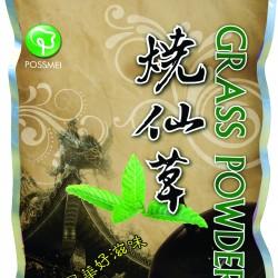 grass jelly powder boba bubble tea mix
