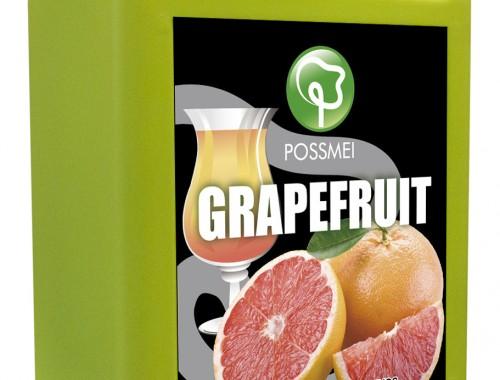 grapefruit boba bubble tea syrup juice