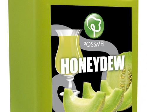 honeydew boba bubble tea syrup juice