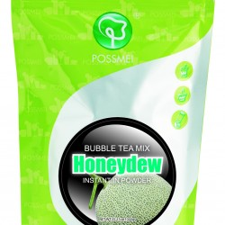 honeydew boba bubble tea powder mix