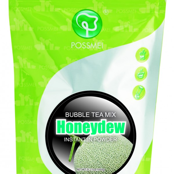 how to make honeydew bubble tea at home