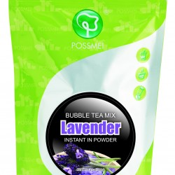 lavender boba bubble tea powder mix