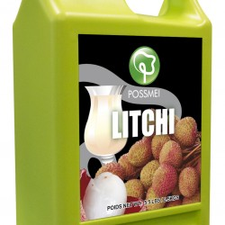 litchi lychee boba bubble tea syrup juice