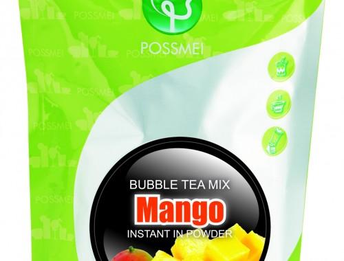 mango boba bubble tea powder mix