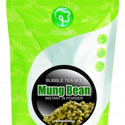 mung bean boba bubble tea powder mix