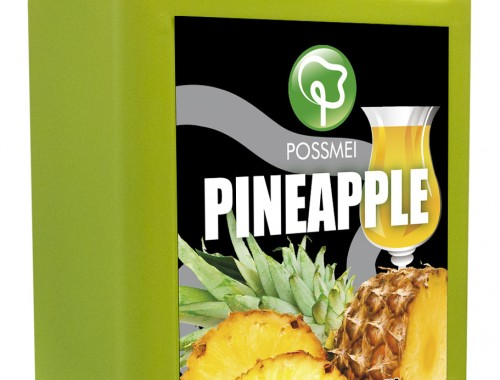 pineapple boba bubble tea syrup juice