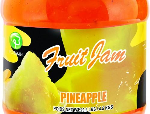 pineapple boba bubble tea jam