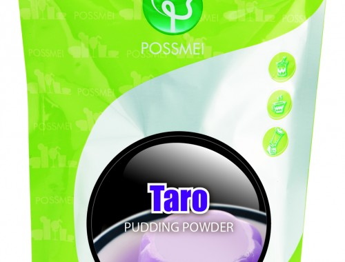taro pudding powder boba bubble tea