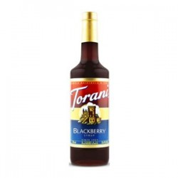 torani blackberry coffee syrup