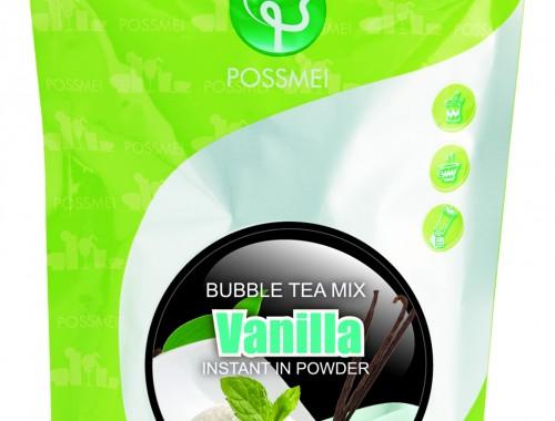 vanilla boba bubble tea powder mix