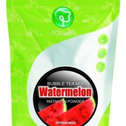 watermelon boba bubble tea powder mix