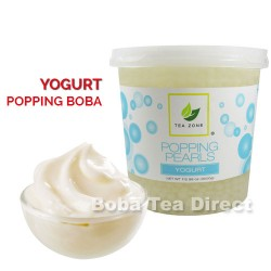 yogurt popping bursting boba balls