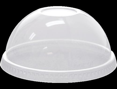 98mm PET Dome Lids w.o hole