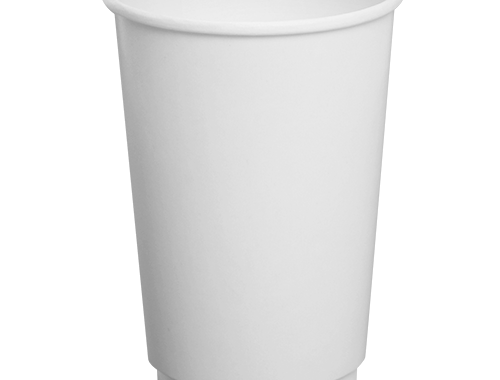 Karat 16oz Insulated Paper Hot Cups - White (90mm)