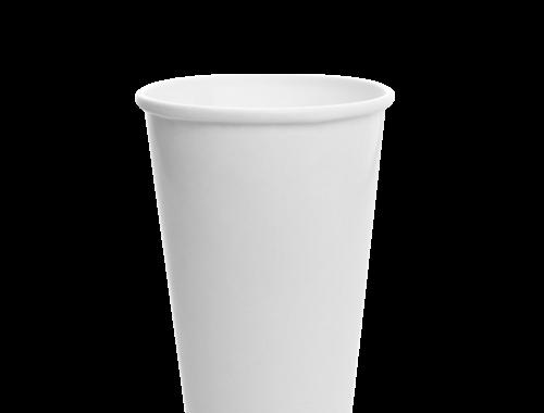 Karat 16oz Paper Cold Cup- White (90mm)