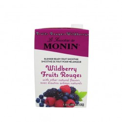Monin Wildberry Fruit Smoothie Mix