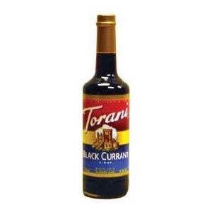 Torani Black Currant Syrup