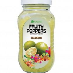 calamansi fruity poppers popping boba small jar