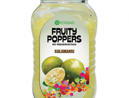 calamansi fruity poppers popping boba small jar