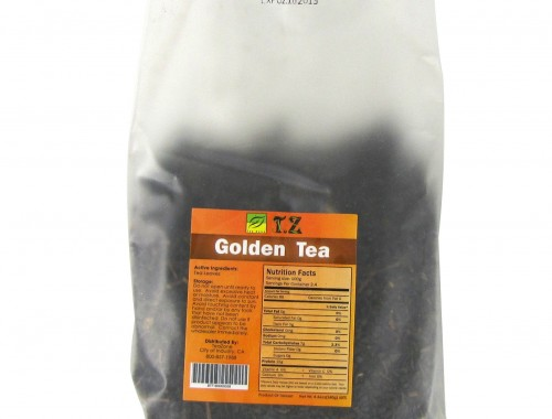 golden milk tea leaves for bubble tea