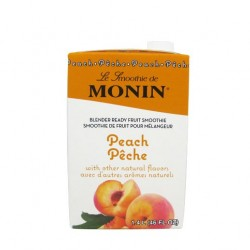 monin peach smoothie mix