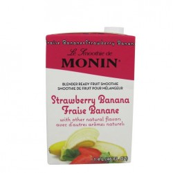 monin strawberry banana smoothie mix