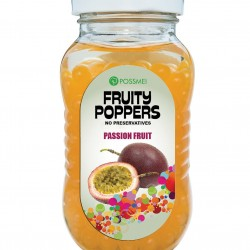 passion fruit fruity poppers popping boba small jar