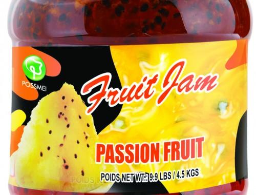 passion fruit boba bubble tea jam