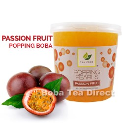 passion fruit popping bursting bobas