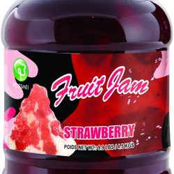 strawberry boba tea jam