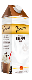 torani coffee real cream frappe base