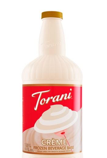 torani creme frozen beverage base