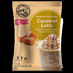 Big Train Caramel Latte Blended Ice Coffee Mix