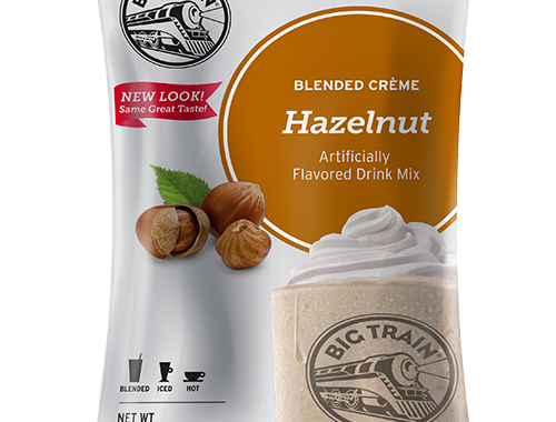 Big Train Hazelnut Blended Creme Frappe Mix