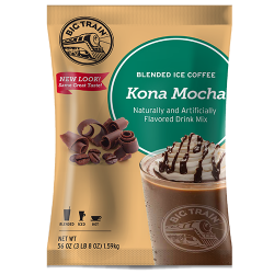 Big Train Kona Mocha Blended Ice Coffee Mix