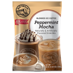 Big Train Peppermint Mocha Blended Ice Coffee Mix (3.5 lbs)