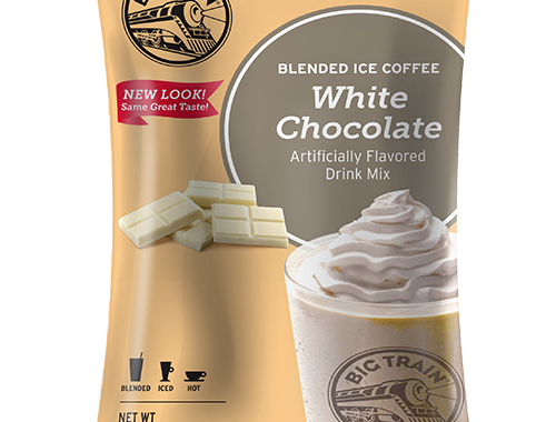 Big Train White Chocolate Latte Blended Ice Coffee Mix