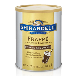 Ghirardelli Double Chocolate Frappe