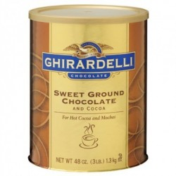 Ghirardelli sweet ground choco