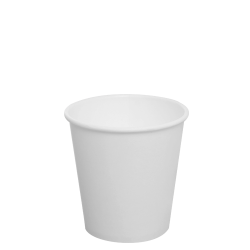 Karat 10oz Paper Hot Cups - White (90mm)