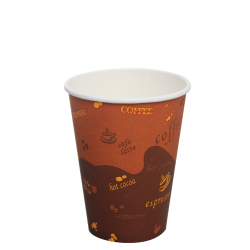 Karat 12oz Paper Hot Cups - Generic (90mm)