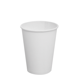 Karat 12oz Paper Hot Cups - White (90mm)